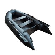 Лодка ПВХ моторная Волга 260С фанерное дно, подвижное сиденье