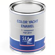 Однокомпонентная высокоглянцевая эмаль краска 0,75 л, Белый