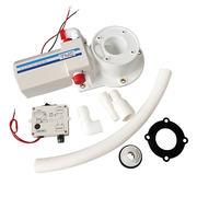 Комплект для переделки ручного унитаза в электрический, новое основание, 12В