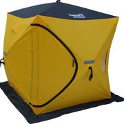 Палатка для зимней рыбалки с широким входом Куб Extreame 1,5х1,5 Helios, Тонар