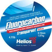 Леска Helios FLUOROCARBON Transparent 0,15mm/50