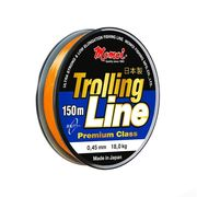 Леска оранжевая Trolling Line 150м, 0,28мм 8,4кг