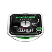 Леска MONOPOWER FEEDER 0,18mm/100m, Green Nylon PREMIER купить c доставкой