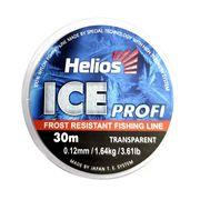Леска зимняя Ice Profi Nylon Transparent Helios 30м, 0,12мм