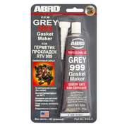 Герметик прокладок 999 силиконовый OEM (Серый) 85 г ABRO