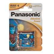 Батарейка Panasonic LR03 Alkaline 4BPS Power с наклейкой