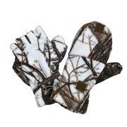 Варежки-перчатки ХСН (белый лес), XL-XXL