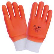 Перчатки зимние оранжевые Alaska, XL