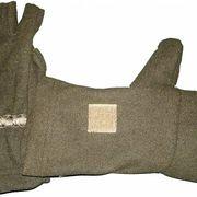 Варежки-перчатки зимние (хаки), M
