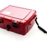 Герметичный контейнер средний красный большой для эхолота камеры