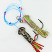 Снасть на треску JpFishing Codfish 12/0 Green/DarkRed