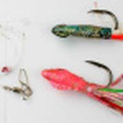 Снасть на треску JpFishing Codfish 12/0 Green/Pink