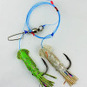 Снасть на треску JpFishing Codfish 12/0 Green/Silver
