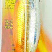 Кальмарница-грузило JpFishing, 100гр., оранжевая, светонакопительная, чешуя
