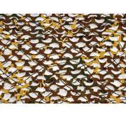 Сеть маскировочная Пейзаж Утка 3D, зеленый, коричневый, желтый, 2,2*1,5 м