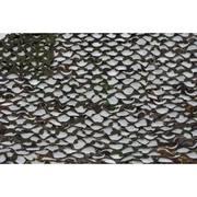 Сеть маскировочная Пейзаж Тайга 4D, темно-зеленый, темно-коричневый,черный, 2,4*3 м