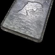 Груз пластина для дайвинга 1.0кг, 114х77мм