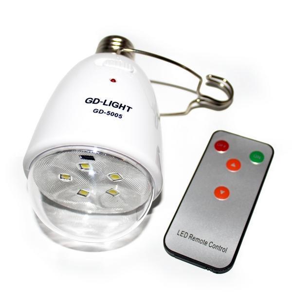 Светодиодная лампа с аккумулятором GD-LIGHT