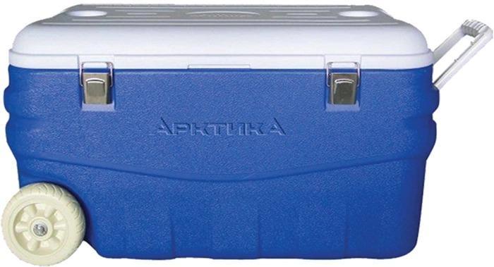 Изотермический контейнер синий Арктика, 80 литров