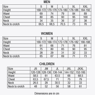 Гидрокостюм женский 3:2мм