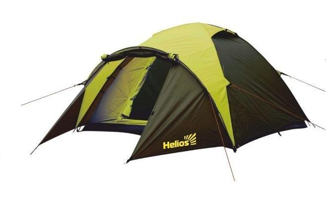 Палатка летняя туристическая MUSSON-3 Helios