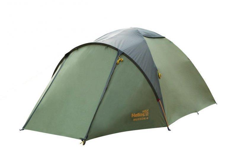Палатка летняя туристическая MUSSON-4 Helios